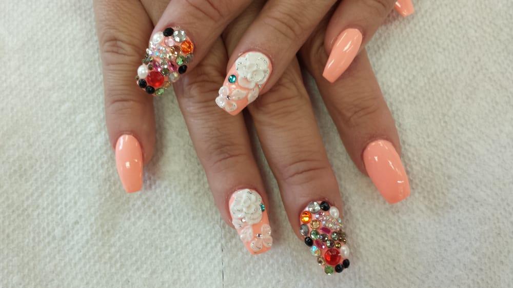 New style nail design at Tyson nail and spa - Yelp