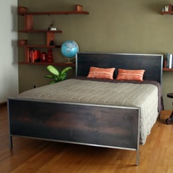 Photo Of Delia   Portland, OR, United States. Steel Plate Bed