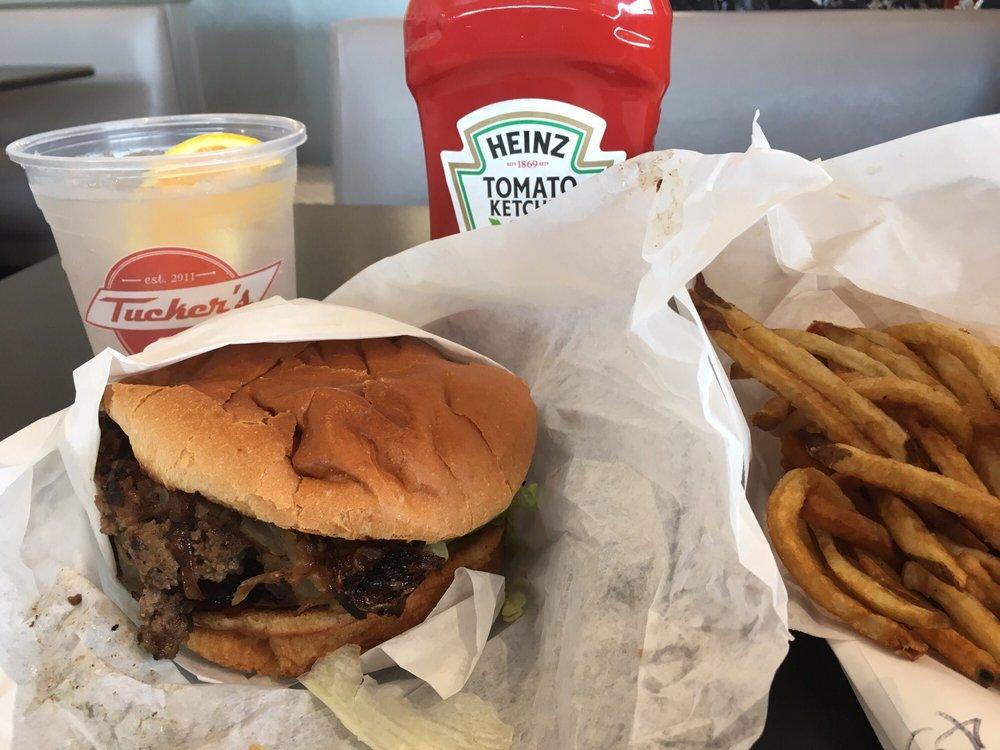 Food from Tucker's Onion Burgers