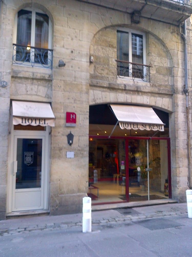 Hotel saint r mi hoteles 34 rue st r mi h tel de for Hotel rue lafaurie monbadon bordeaux