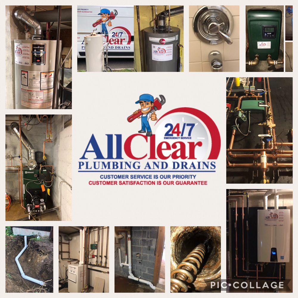 All Clear Plumbing and Drains: Morris, NJ