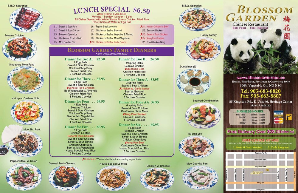 Photos for Blossom Garden Chinese Restaurant | Menu - Yelp