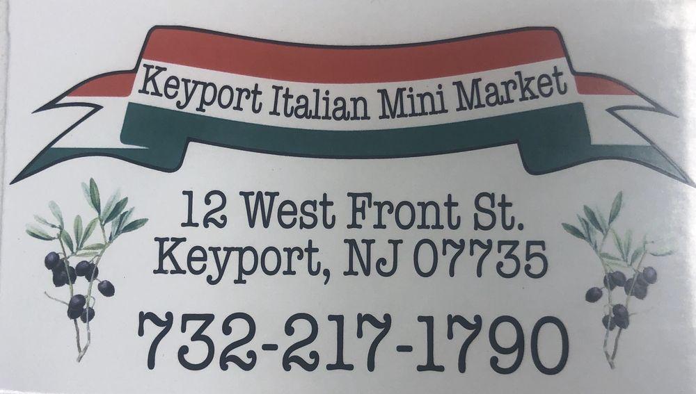 Keyport Italian Mini Market: 12 W Front St, Keyport, NJ