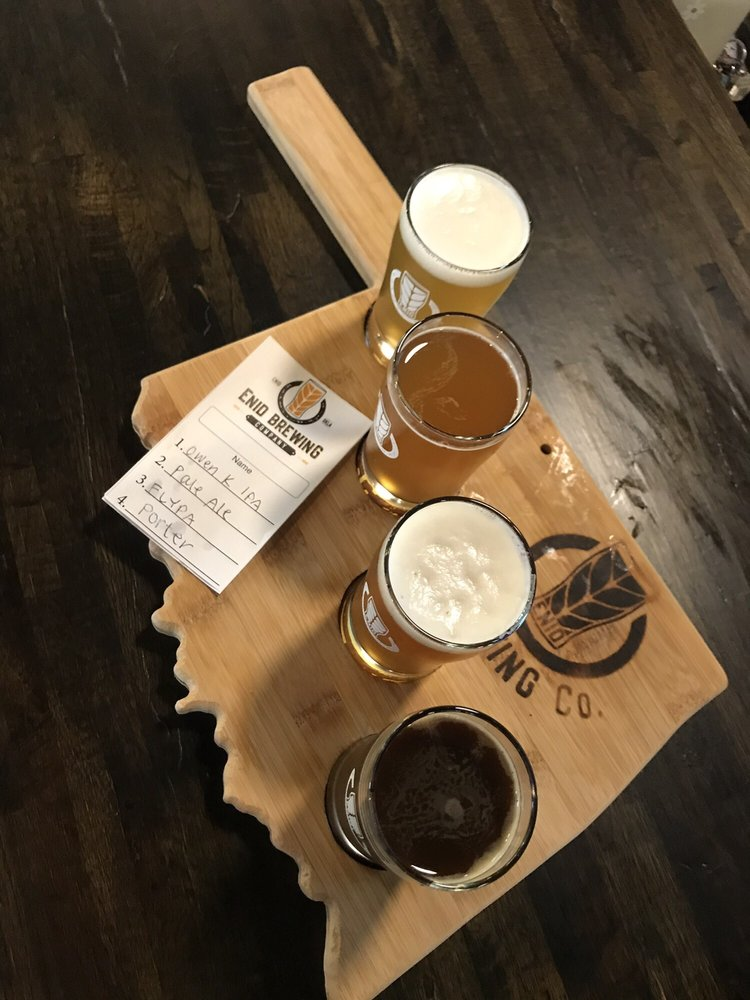 Enid Brewing Company: 126 S Independence Ave, Enid, OK