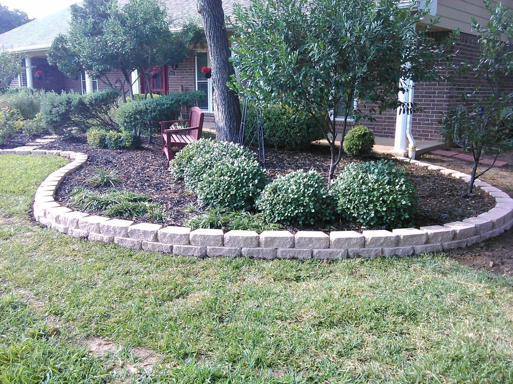 Pavestone Flower Beds Can Make A Home Look Beautiful And