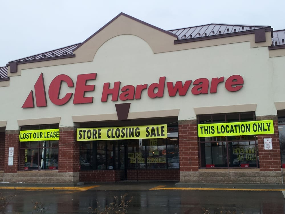 Ziegler S Ace Hardware Closed Hardware Stores 806 W