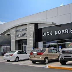 norris dealer Dick car