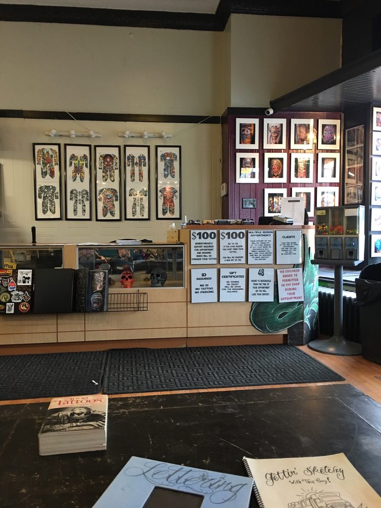 V One Tattoo Studio: 2714 Brownsville Rd, Pittsburgh, PA