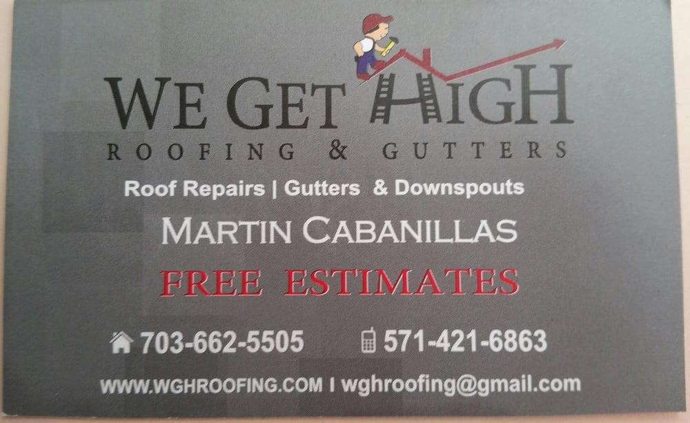 We Get High Roofing & Gutters