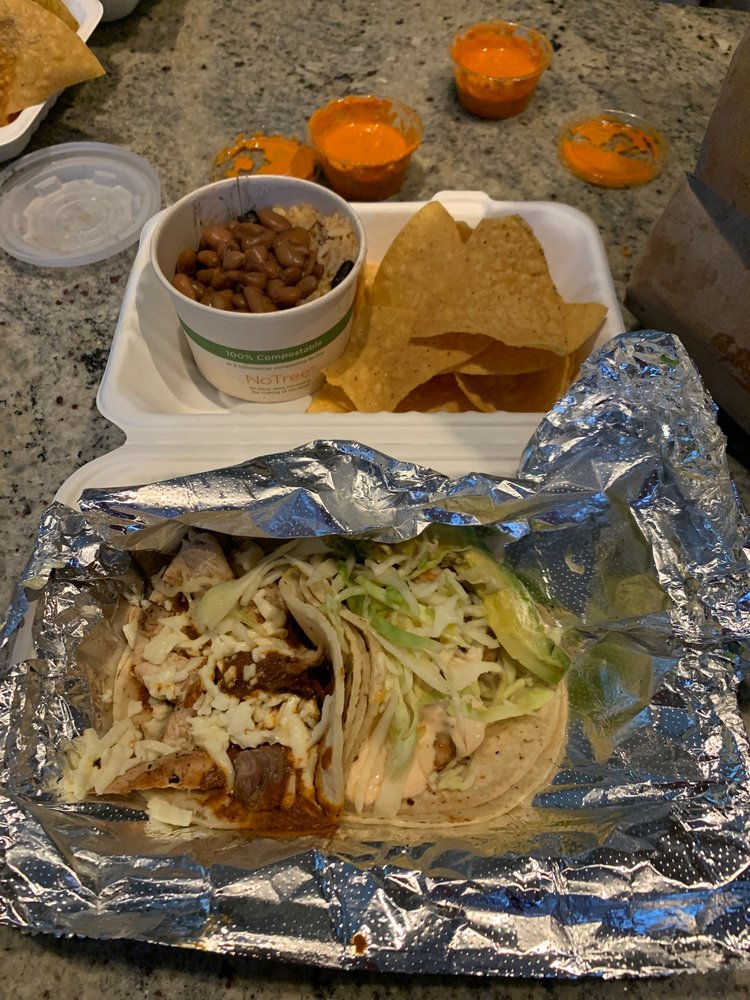 Food from Taco Trio