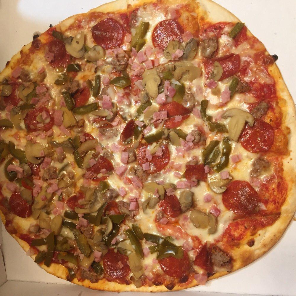 Leo's Pizza: 230 S Main St, Jacksonville, IL