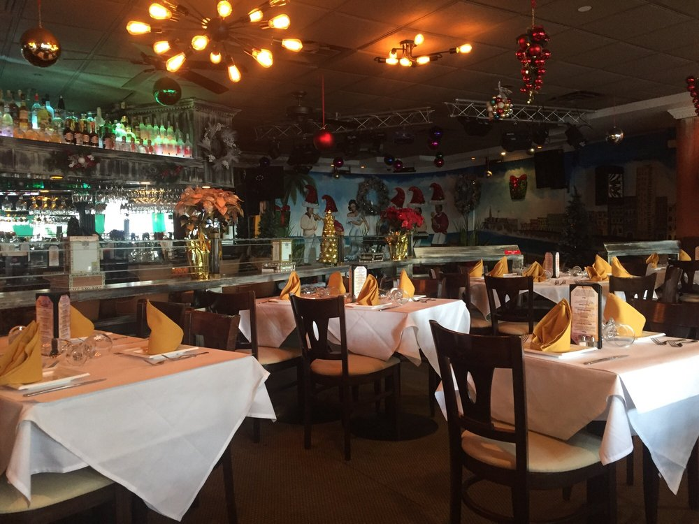 Spacious dining area yelp Cuban restaurant garden city ny