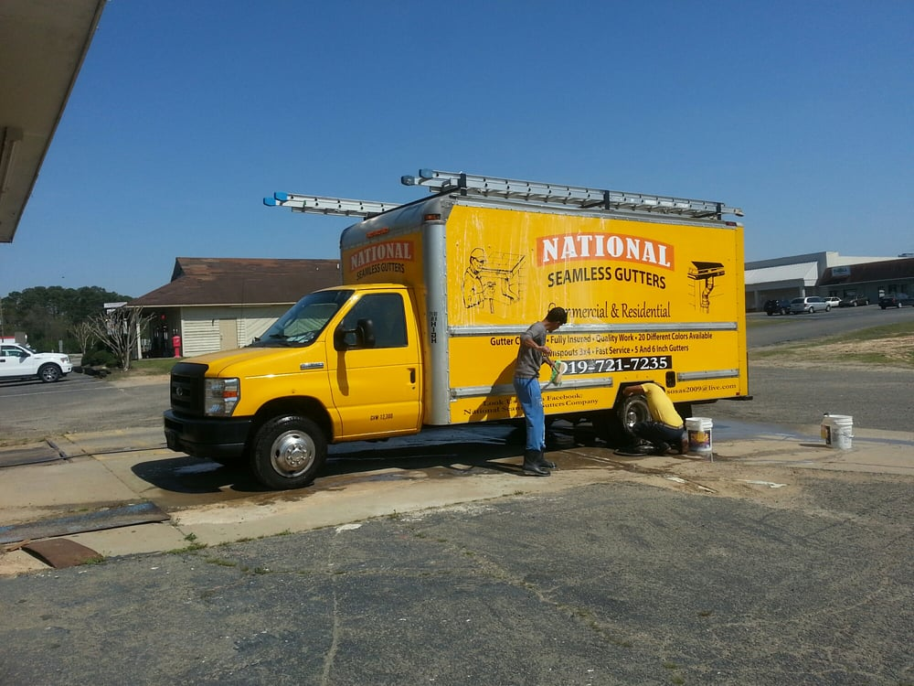 National Seamless Gutters Roofing Sanford Nc Photos