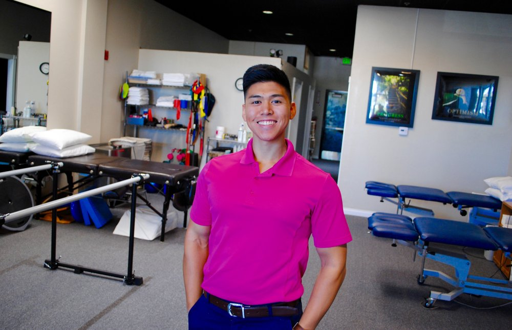 Kyle, our super PT aide, CSUSM graduate in kinesiology, and future ...