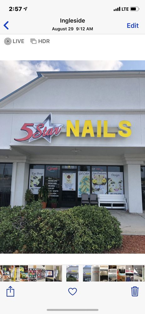 5 Star Nails: 2334 State Hwy 361, Ingleside, TX