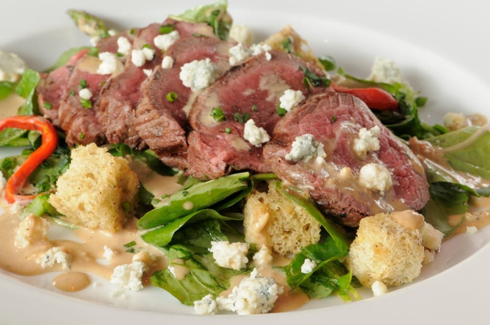 Cab tender medallion steak salad yelp for Ringside fish house portland