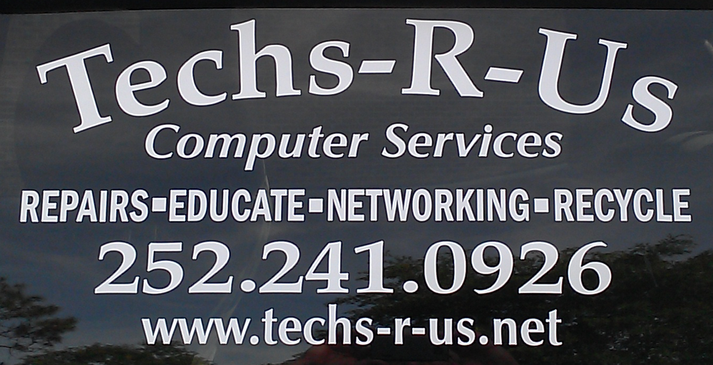 Techs-R-Us Computer Services: 137 Oyster Rock, Newport, NC