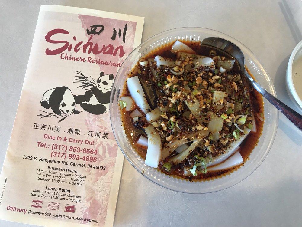 Sichuan Chinese Restaurant: 1329 Rangeline Rd, Carmel, IN