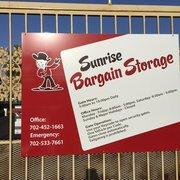 ... Photo Of Sunrise Bargain Storage   Las Vegas, NV, United States ...