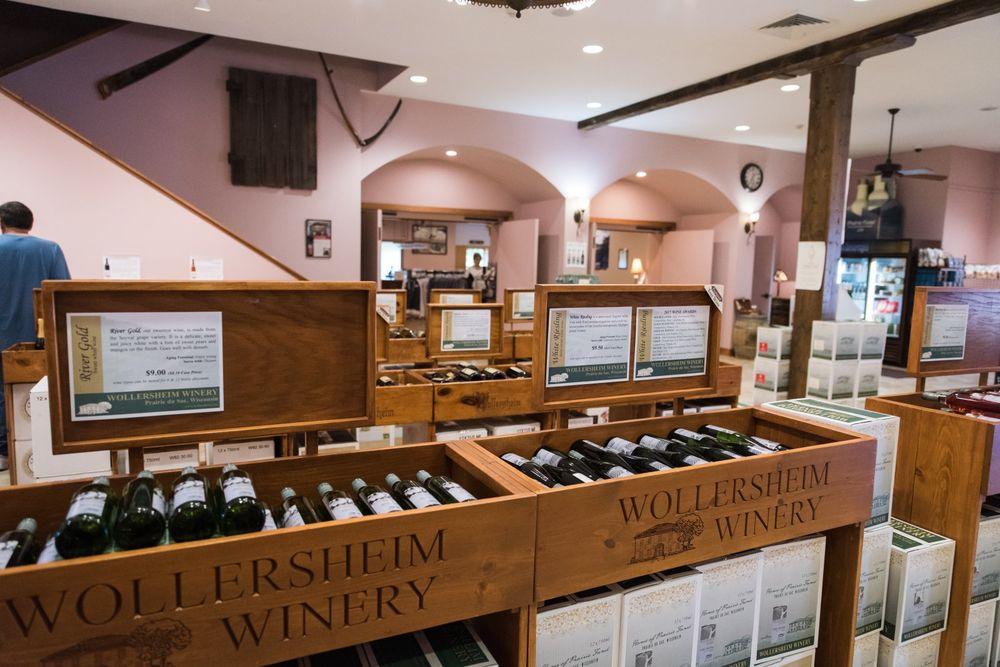 Wollersheim Winery & Distillery: 7876 State Rd 188, Prairie du Sac, WI