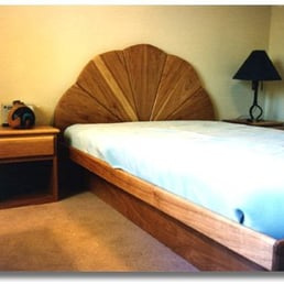 Photo Of Watersong Furniture   Albuquerque, NM, United States. A Platform  Bed With
