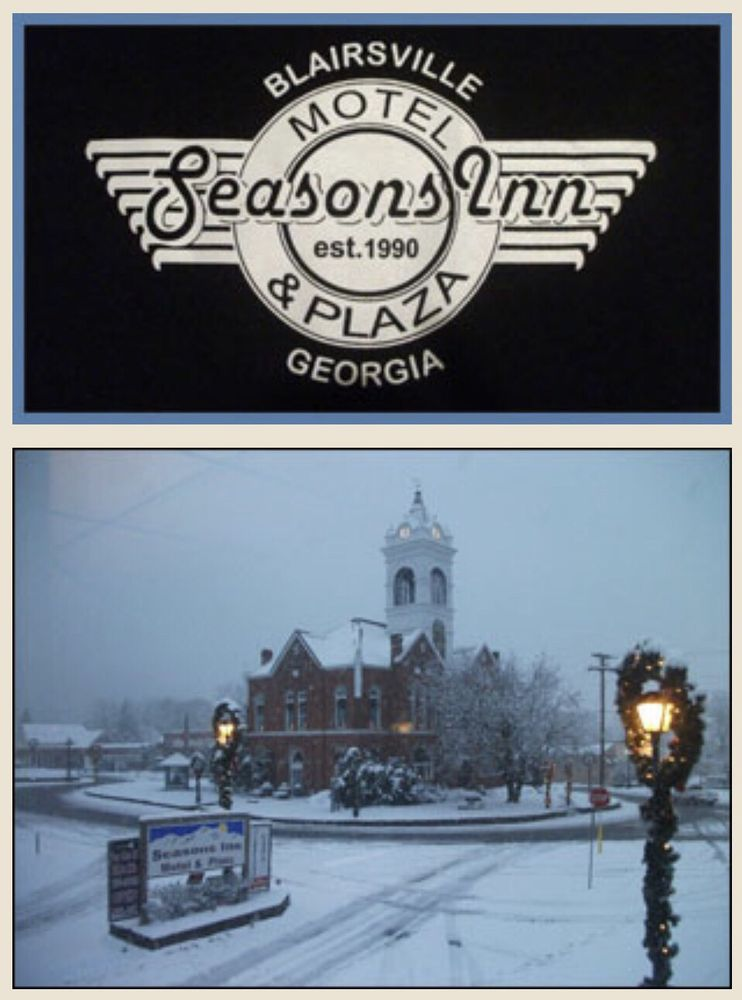Seasons Inn: 94 Town Square, Blairsville, GA