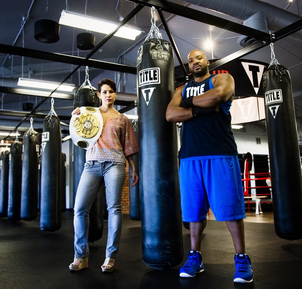TITLE Boxing Club: 1714 Newbury Road, Newbury Park, CA