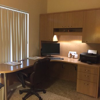 Custom corner desk has everything that we wanted and fits ...