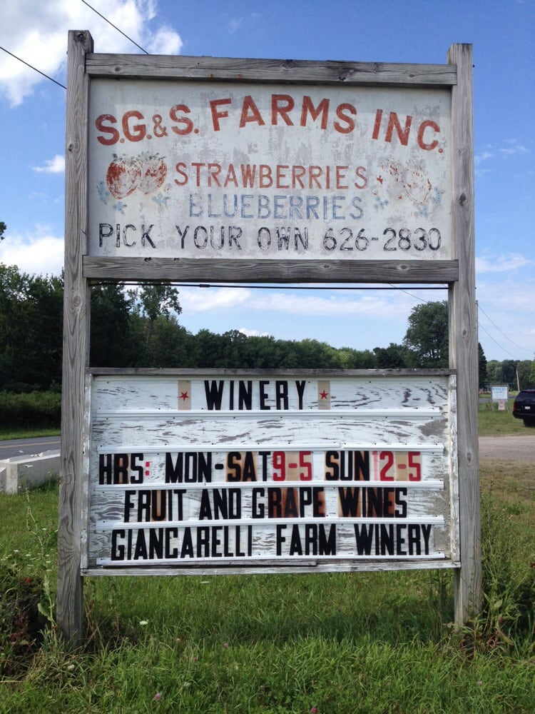 Giancarelli Brothers Winery: 10252 Short Cut Rd, Weedsport, NY