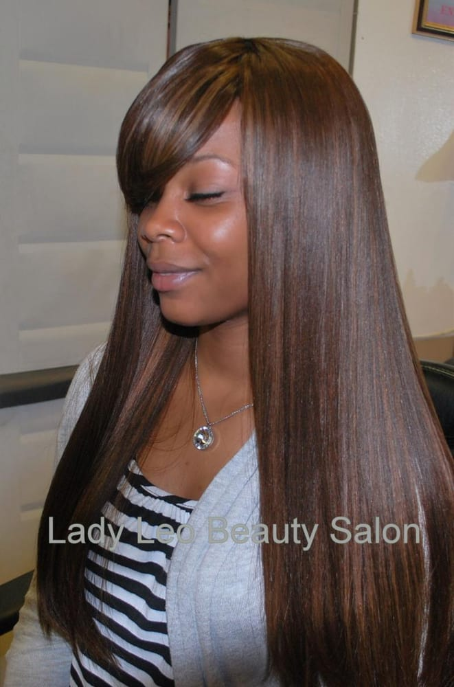 Full Head Weave W Swoop Bang Stylist Karen Yelp