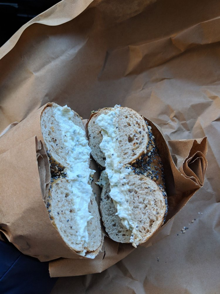 Lil's Bagels: 308 Greenup St, Covington, KY