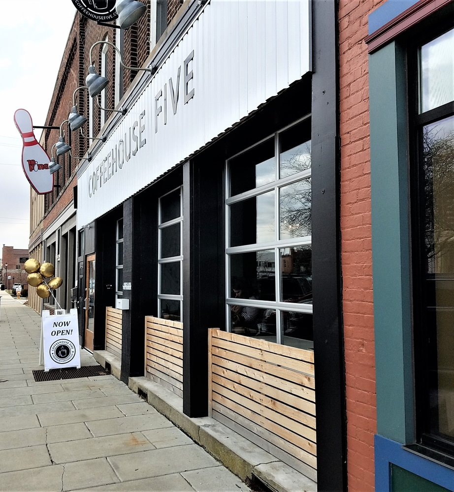Coffeehouse Five - Franklin: 41 W Monroe St, Franklin, IN