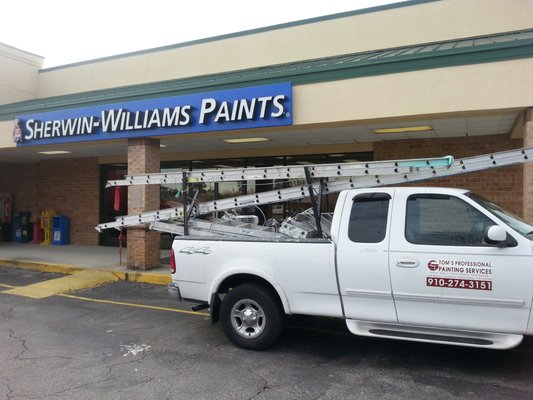 sherwin williams paint store paint stores 3600 s college rd. Black Bedroom Furniture Sets. Home Design Ideas