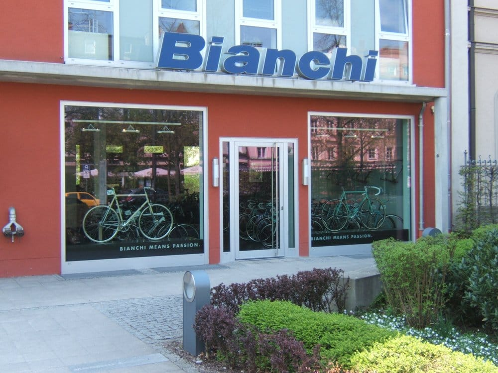 bianchistore fahrrad nymphenburger str 91 neuhausen m nchen bayern deutschland. Black Bedroom Furniture Sets. Home Design Ideas