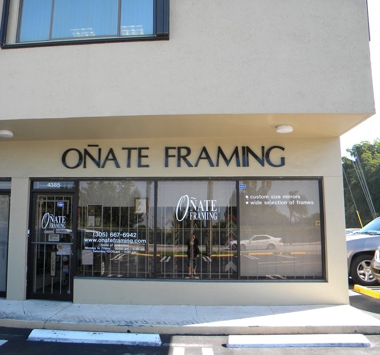 Onate Framing Gallery - Art Galleries - 4385 SW 72nd Ave, Miami, FL ...