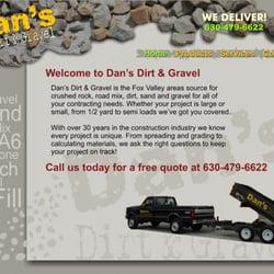Dan's Dirt & Gravel - Landscaping - 1212 Fifth St, Aurora, IL