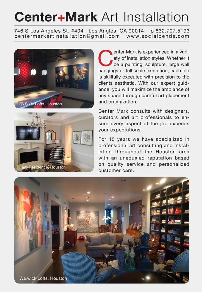 Center Mark Art Installation: 630 W Alabama St, Houston, TX