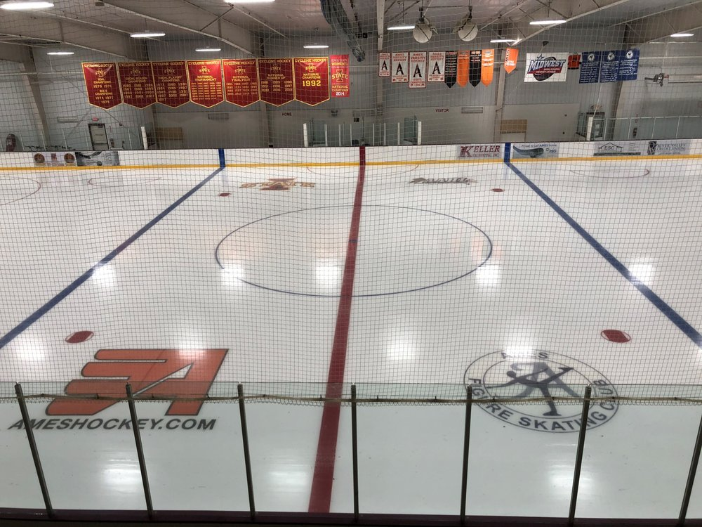 Ames ISU Ice Arena: 1505 Gateway Hills Park Dr, Ames, IA