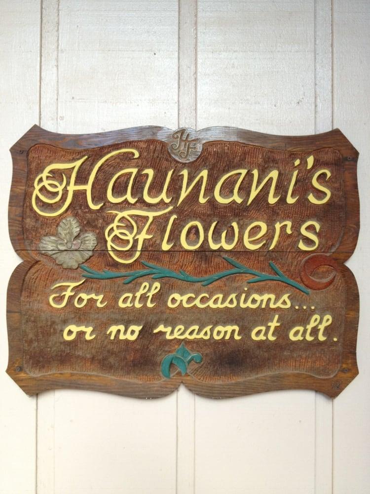Haunani's Flowers: 201 Ala Malama Ave, Kaunakakai, HI