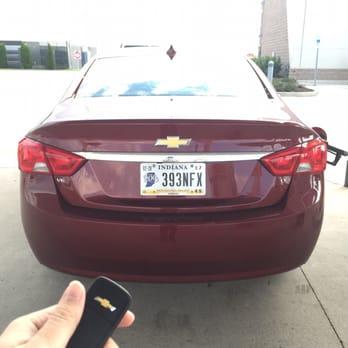 Hertz Car Rental Return Indianapolis