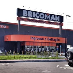 Bricoman Building Supplies Via Lambretta Segrate Milano Italy