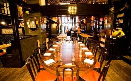 The Breslin Bar Dining Room Chefs Table Available For Large Format Dinners More Details On Our Website