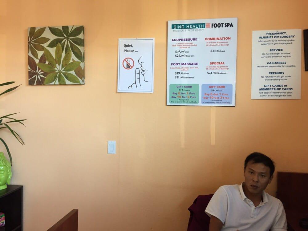 Sino health foot spa