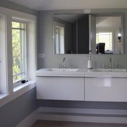 Photo of Barbara Feldman Interior Design - East Hampton, NY, United States.  Bathroom