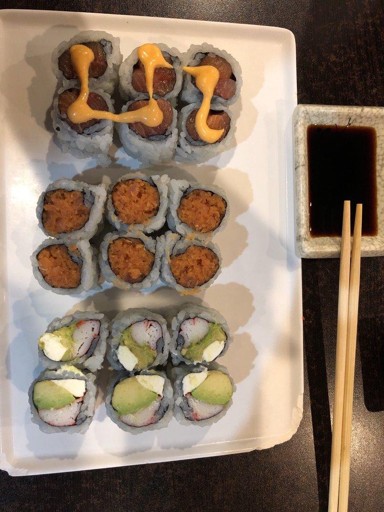 Saki Endless Sushi & Hibachi Eatery: 2643 Gulf To Bay Blvd, Clearwater, FL