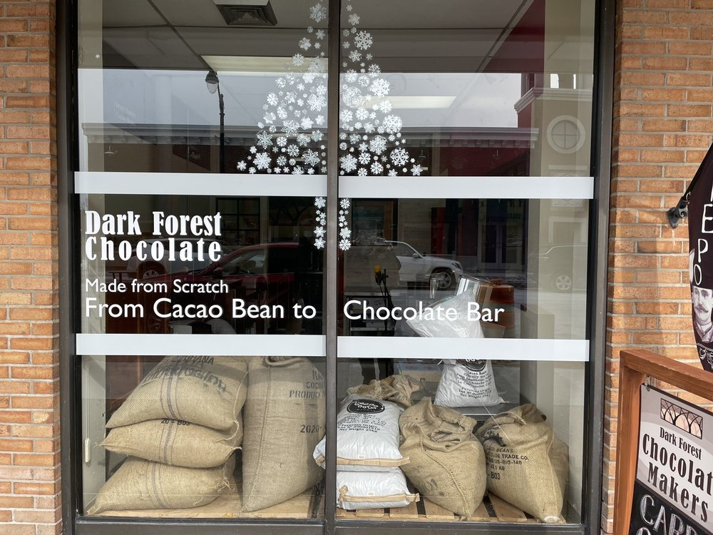 Dark Forest Chocolate Makers: 11 W Main St, Lancaster, NY