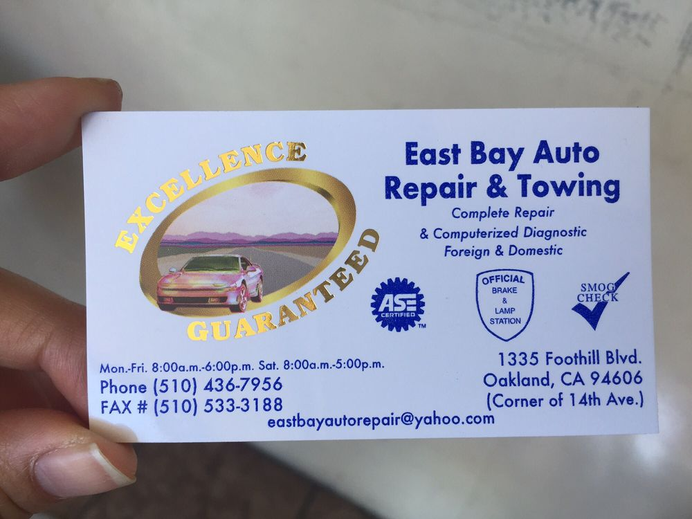 Their business card with address, phone, and hours - Yelp