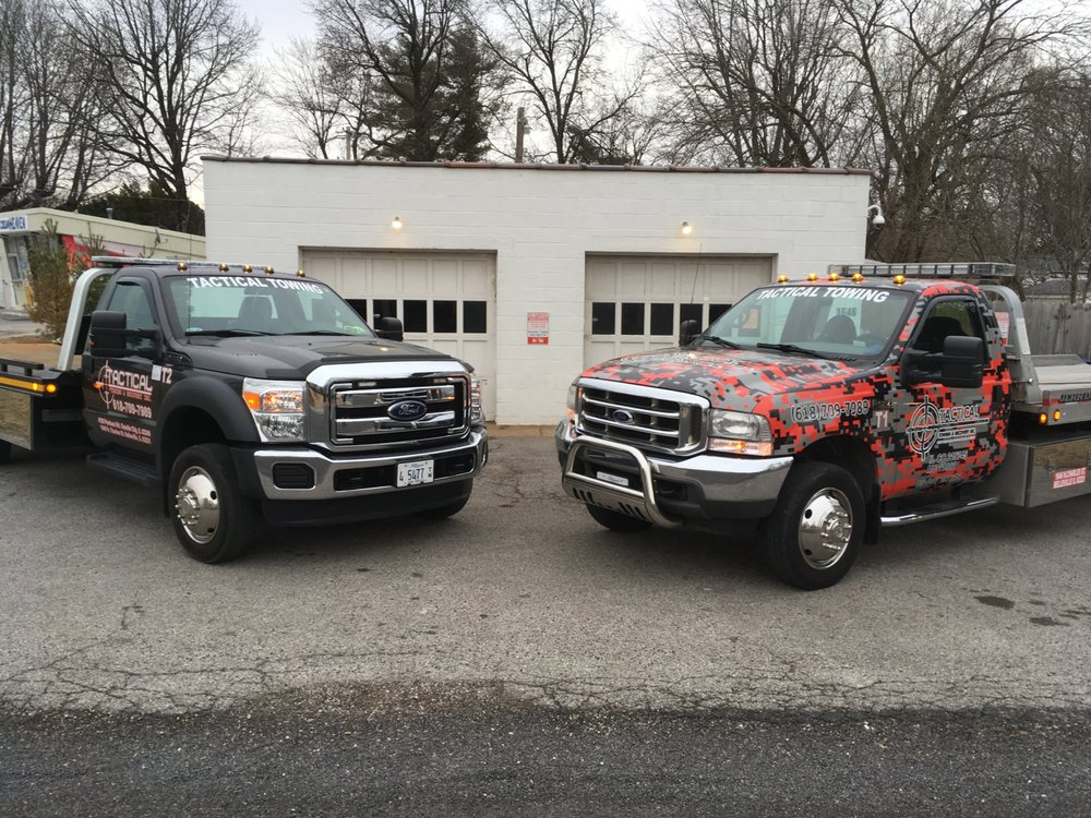 Tactical Towing & Recovery: 1646 N Charles St, Belleville, IL