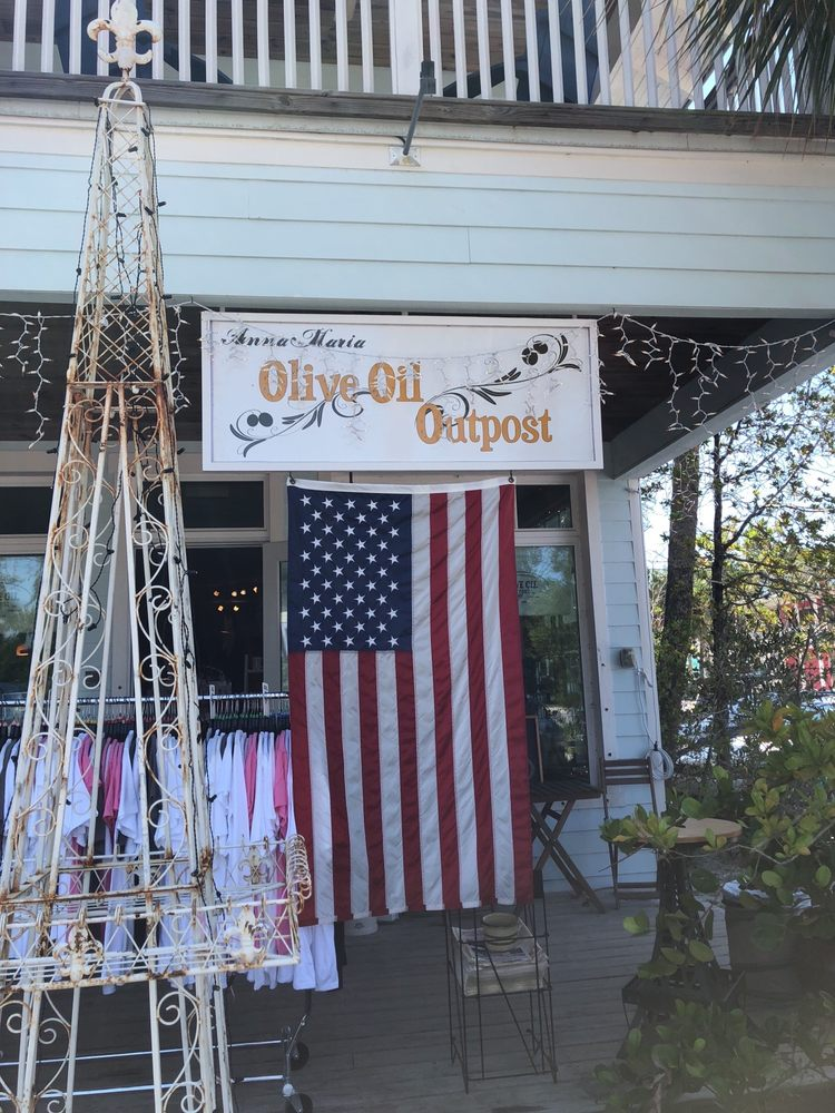 Olive Oil Outpost: 410 Pine Ave, Anna Maria, FL