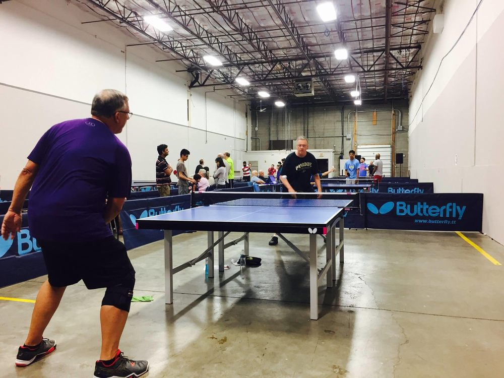 Spin and Smash Table Tennis & Ping Pong Center